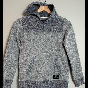Hawk gray hoodie with kangaroo pocket -boys M